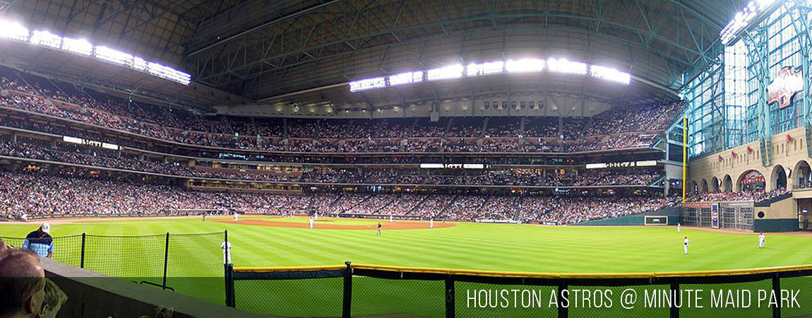 Warners Athletic Construction - Houston Astros @ Minute Maid Park
