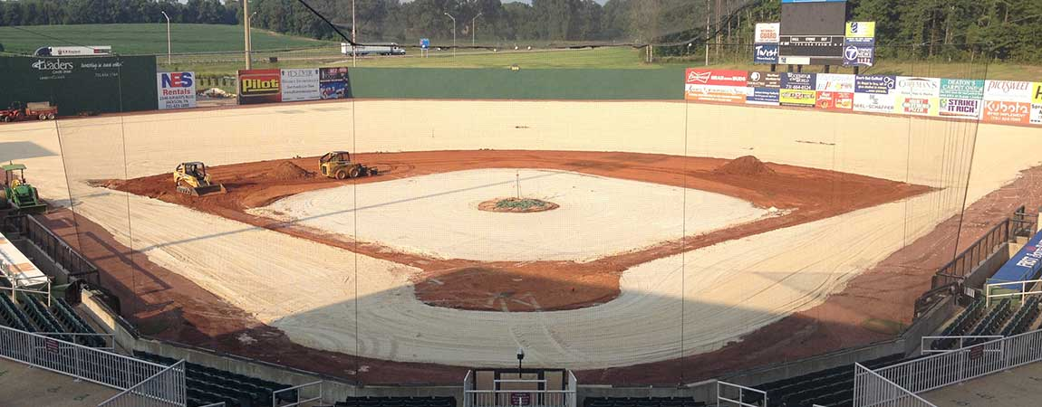 Warners athletic Construction Baseball 2