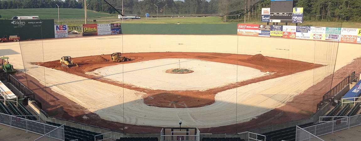 Warners athletic Construction Baseball 2